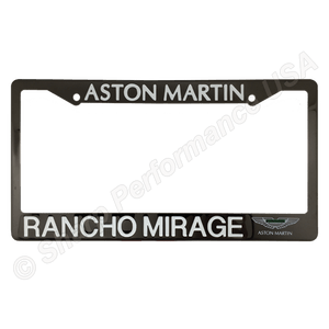 Gun Metal Stainless Steel License Plate Frames.